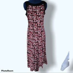 Perceptions | Paneled Midi Stretch Dress